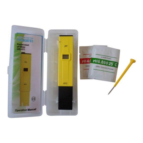 ph-meter-yellow
