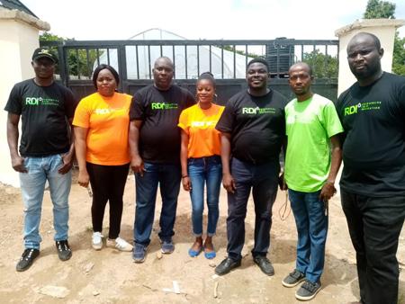 RDI Abuja team